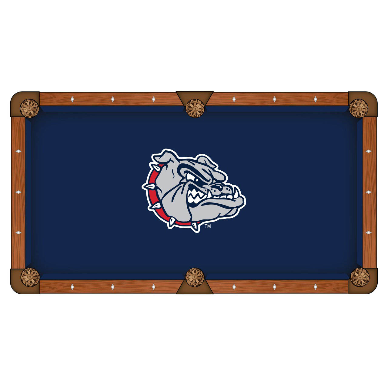 One of a kind Gonzaga Pool Table Cloth Product Photo