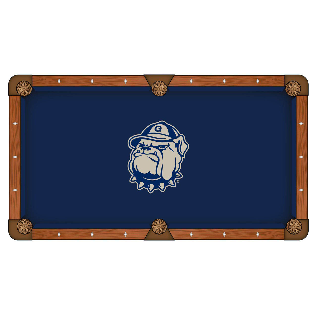 High-class Georgetown University Pool Table Cloth Product Photo