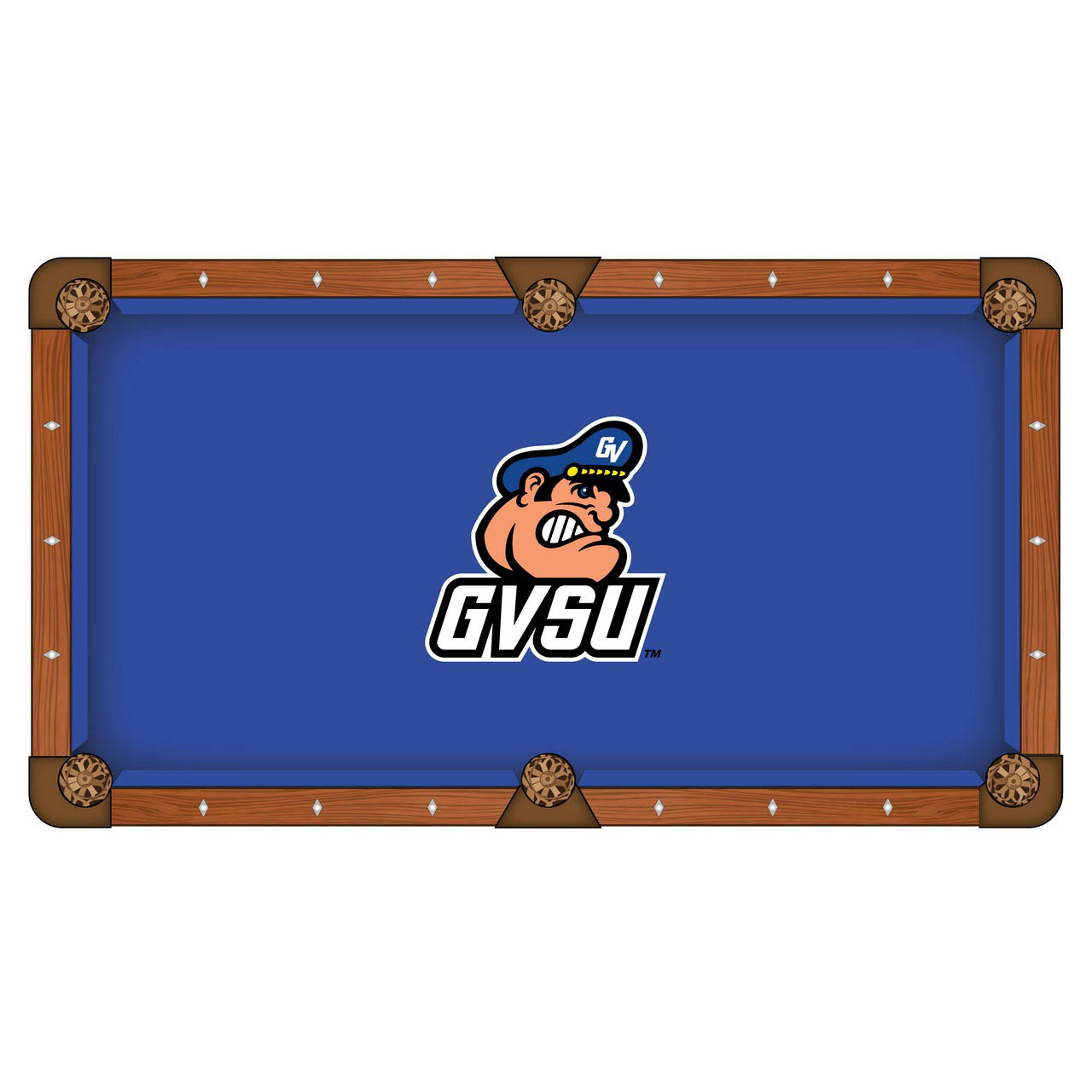 Pretty Grand Valley State University Pool Table Cloth Product Photo