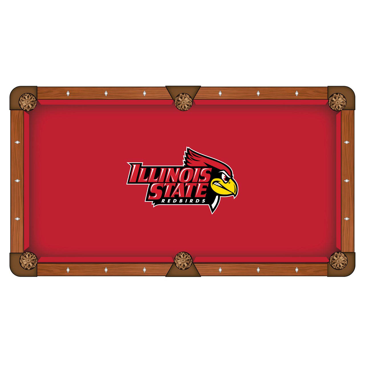 Longstanding Illinois State University Pool Table Cloth Product Photo