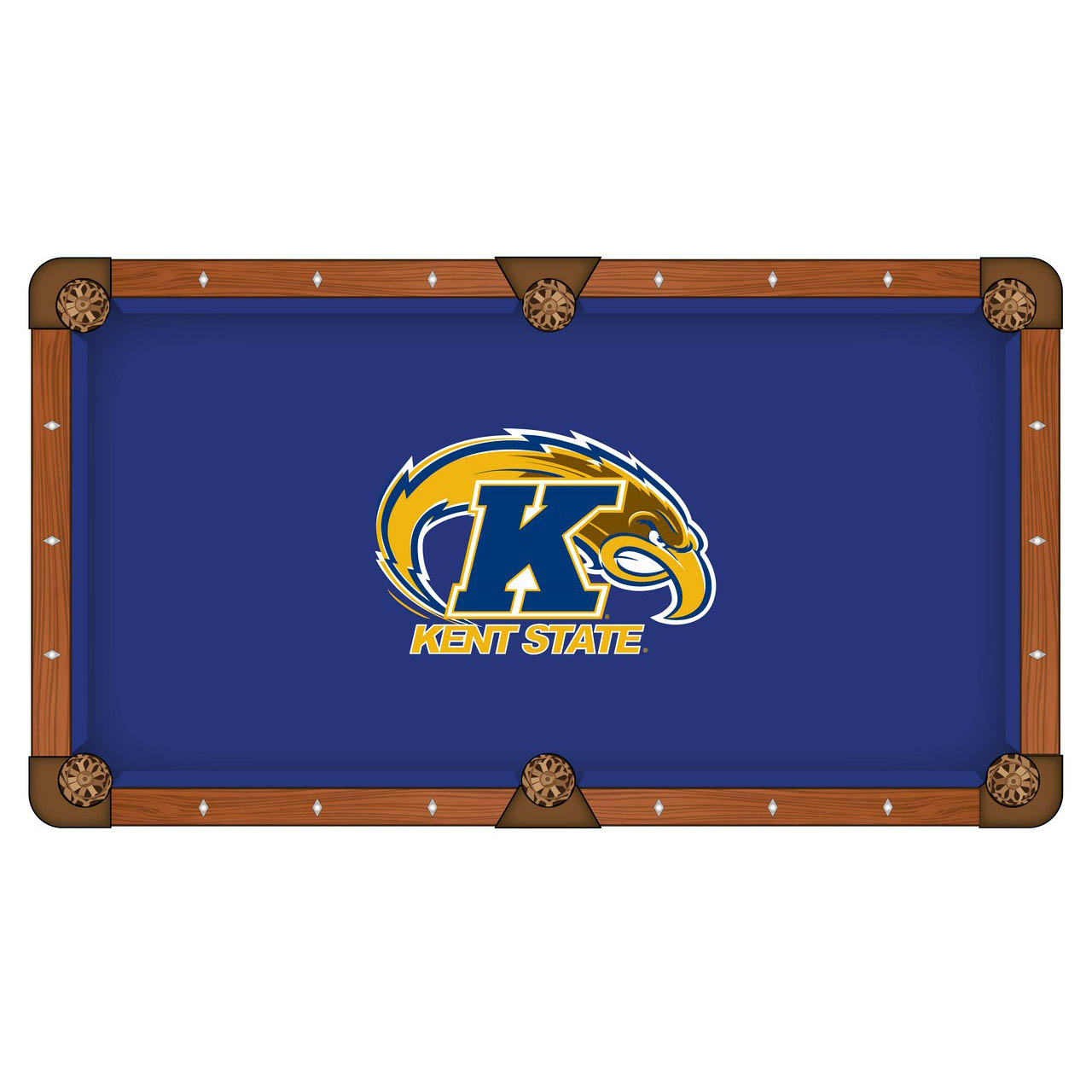 Information about Kent State University Pool Table Cloth Product Photo