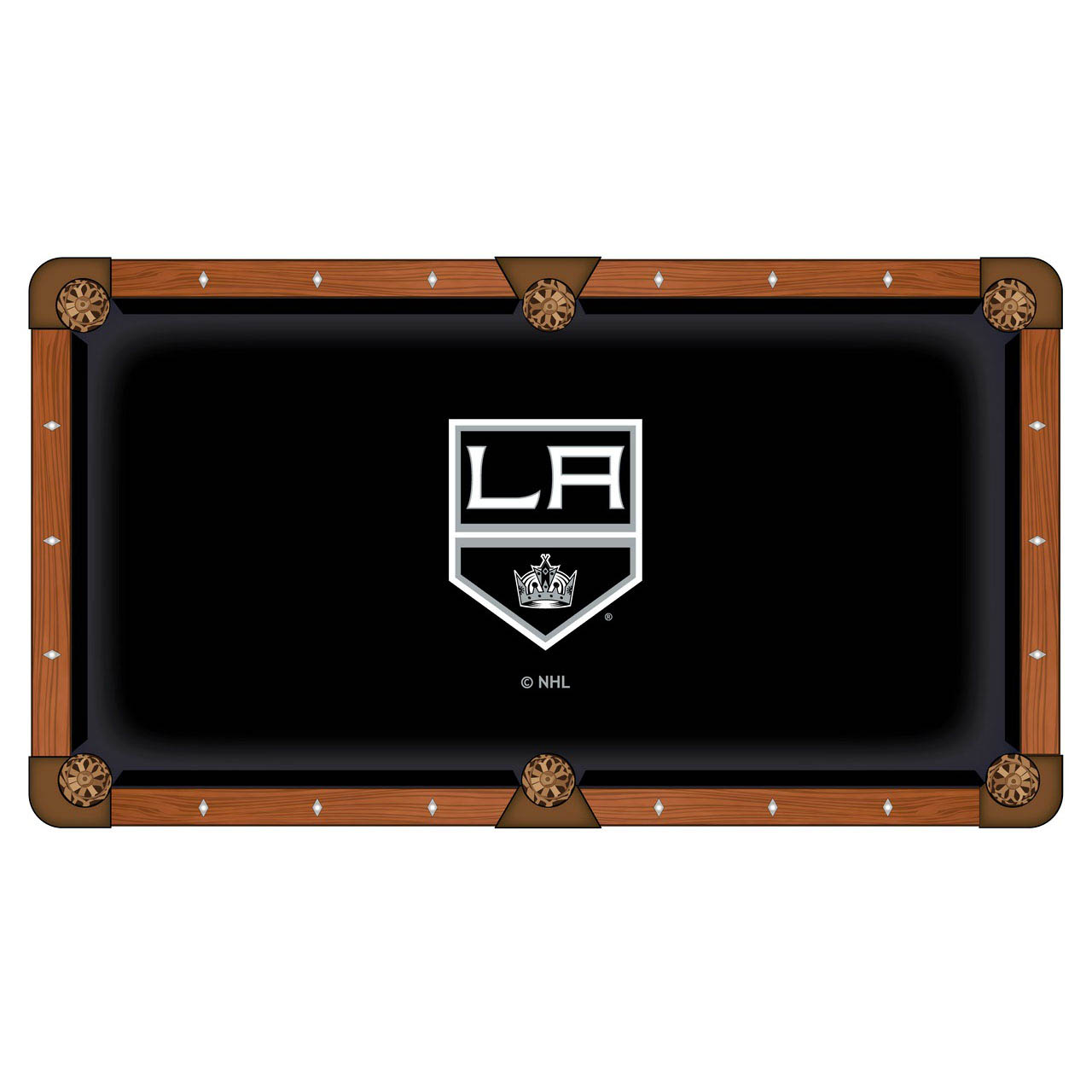 Info about Los Angeles Kings Pool Table Cloth Product Photo
