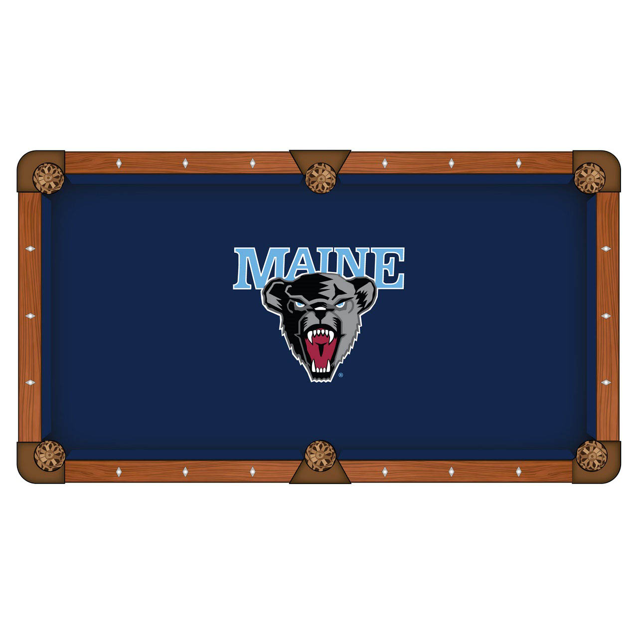Stylish University Maine Pool Table Cloth Product Photo