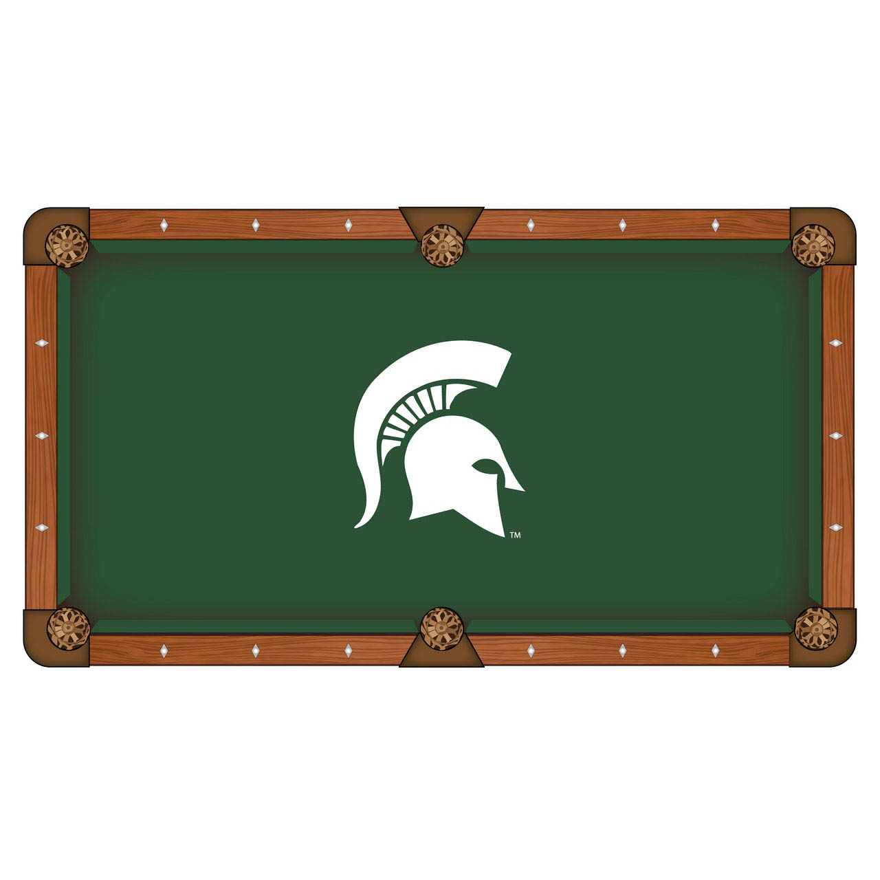 Choose Michigan State University Pool Table Cloth Product Photo