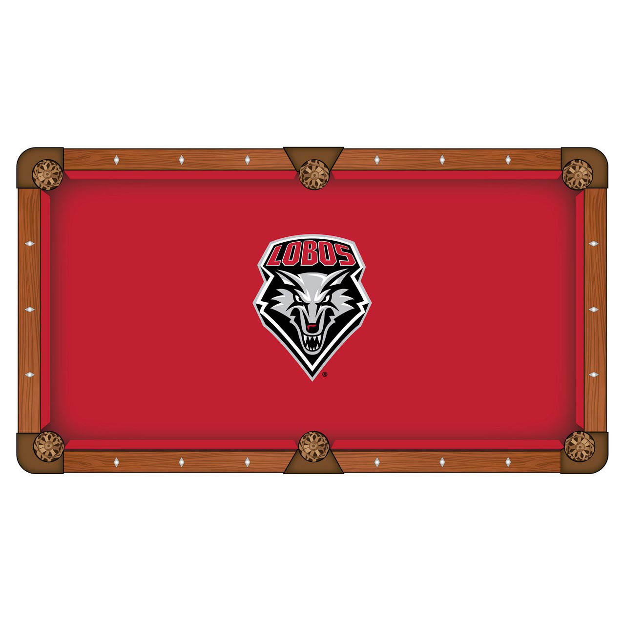 Serious University Mexico Pool Table Cloth Product Photo