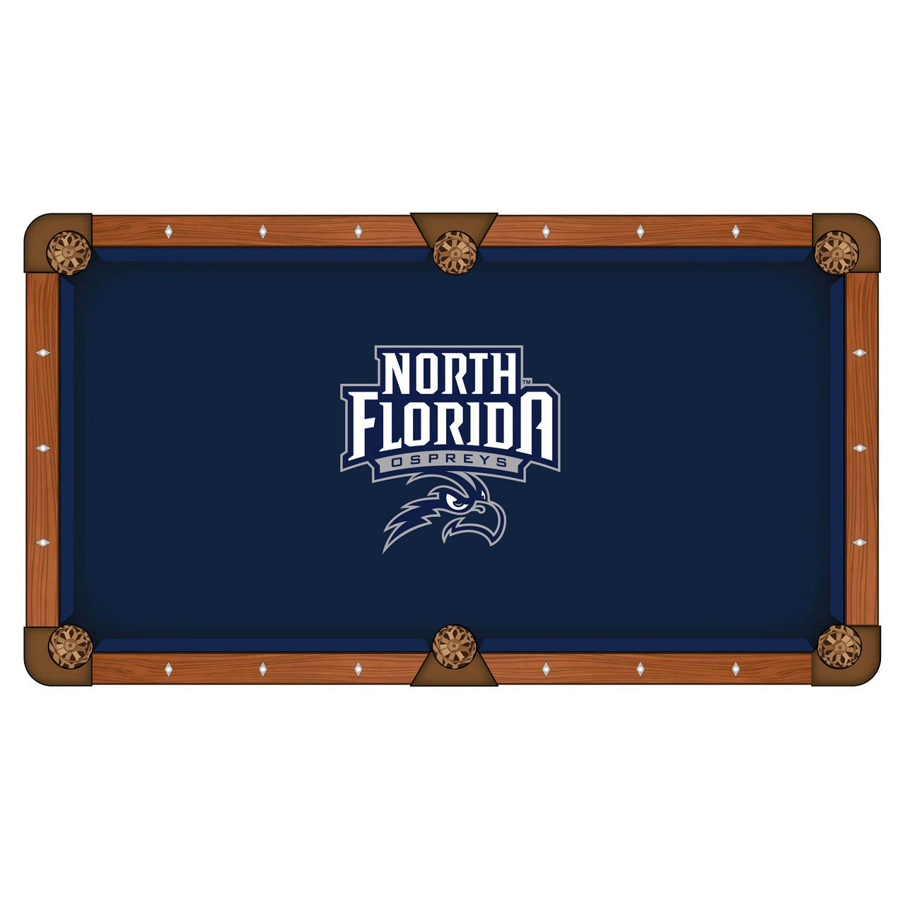 Design University North Florida Pool Table Cloth Product Photo