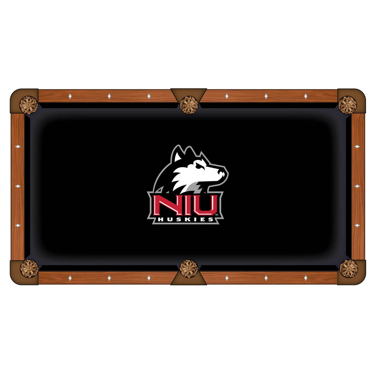 Choose University Northern Illinois Pool Table Cloth 7 512