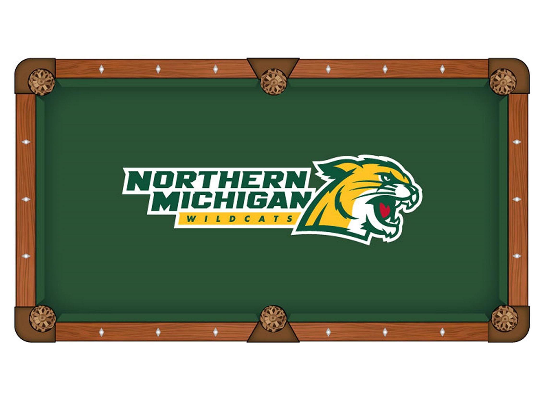 Money saving Northern Michigan University Pool Table Cloth Product Photo