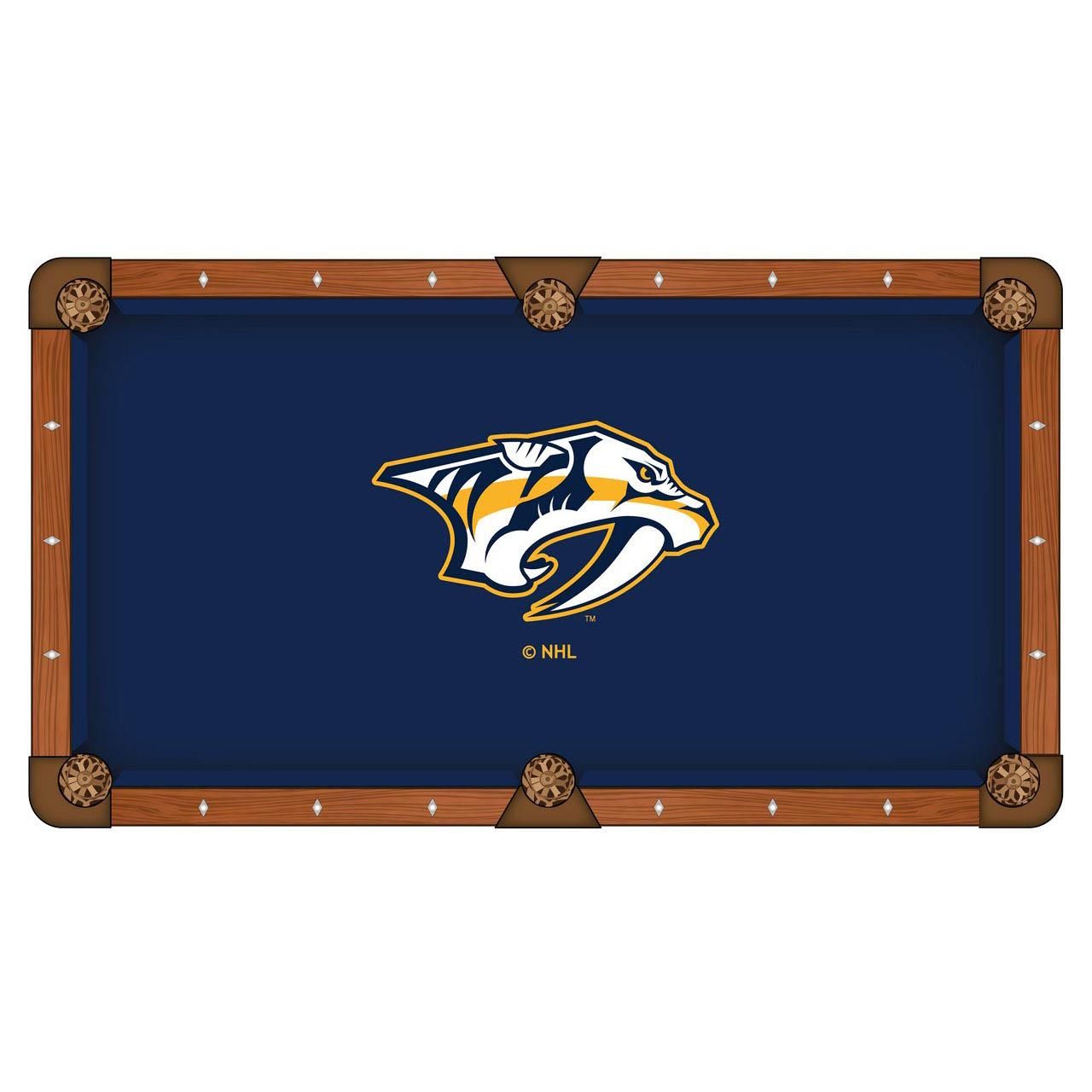 Choose Nashville Predators Pool Table Cloth 6 346