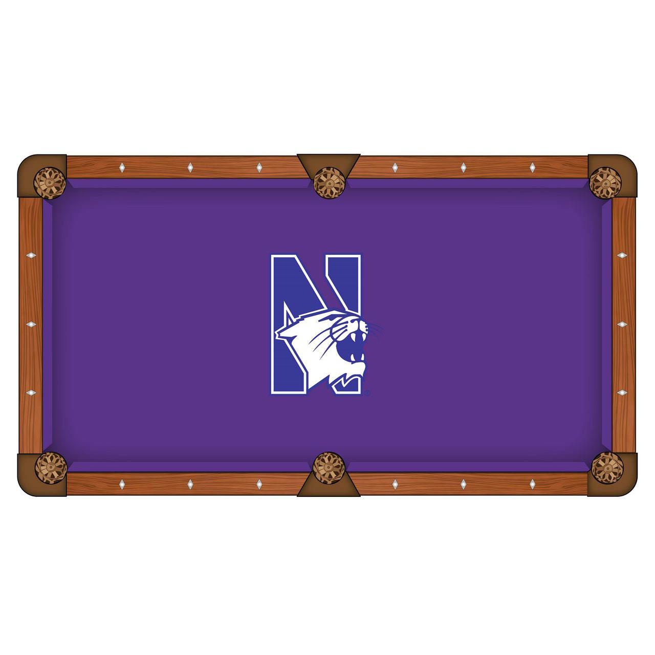 Design Northwestern University Pool Table Cloth Product Photo