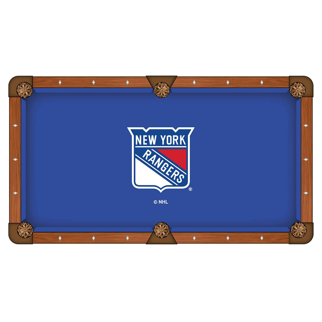 Special New York Rangers Pool Table Cloth Product Photo