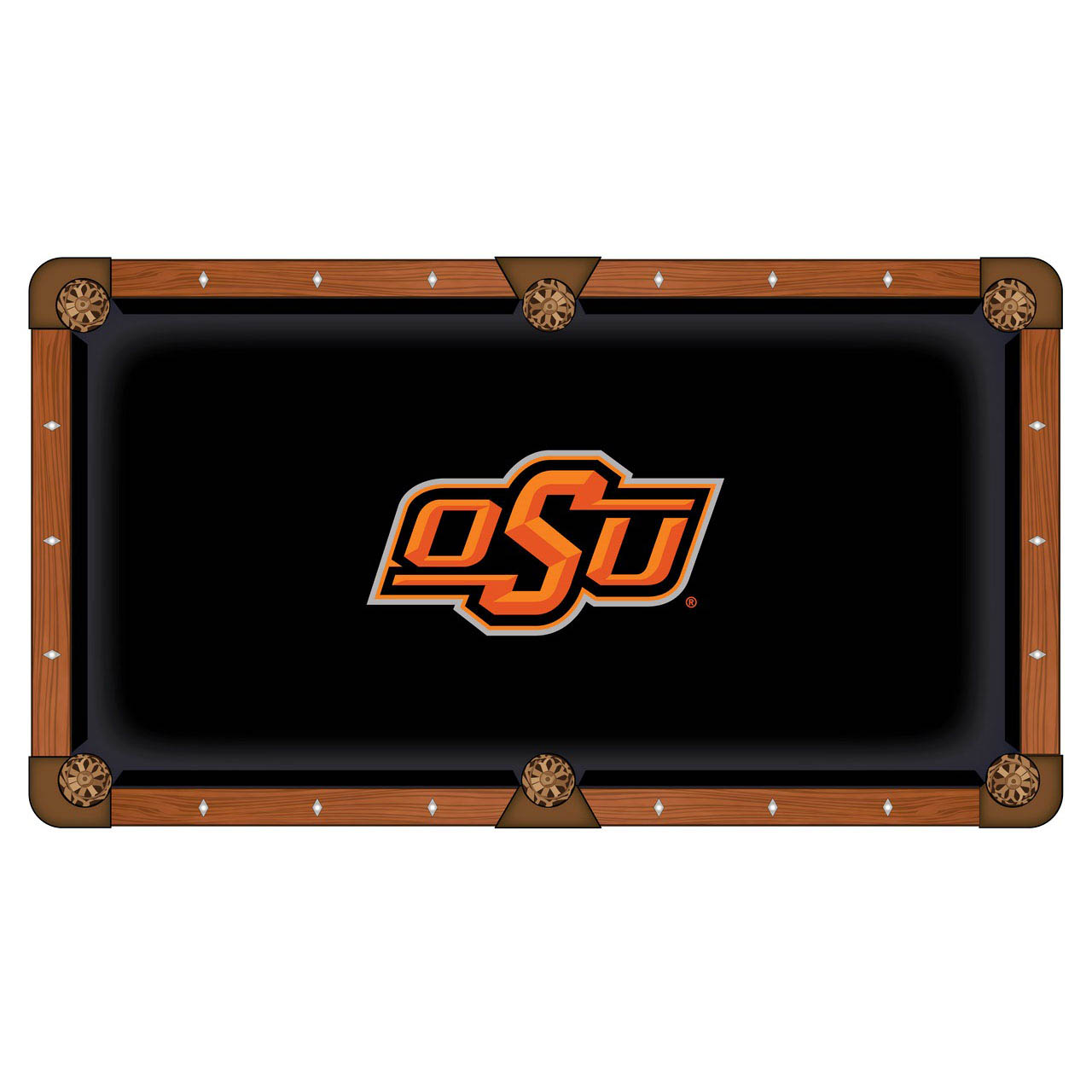 New Oklahoma State University Pool Table Cloth Product Photo