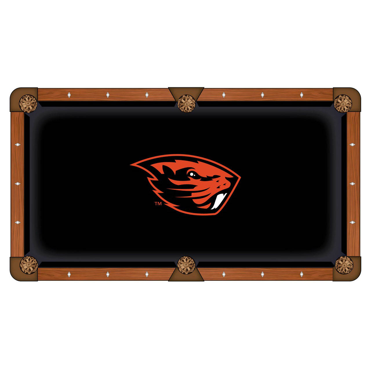 Cheap Oregon State University Pool Table Cloth Product Photo