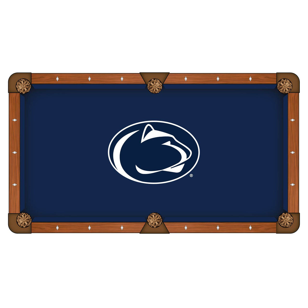 Precious Pennsylvania State University Pool Table Cloth Product Photo