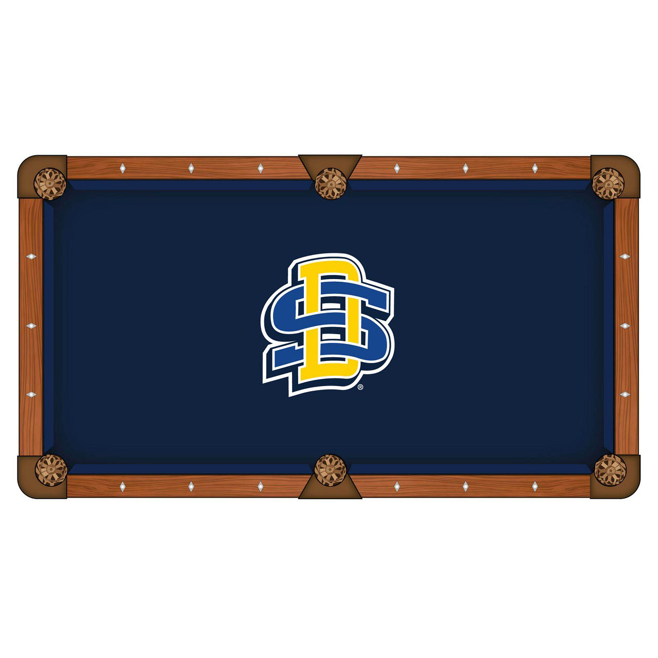 Check out the South Dakota State University Pool Table Cloth Product Photo