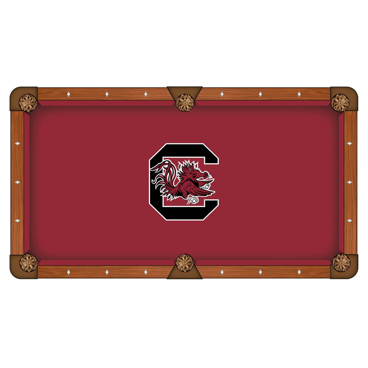 Choose University South Carolina Pool Table Cloth 12 512