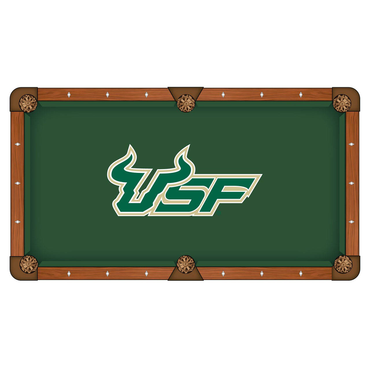 Choose University South Florida Pool Table Cloth 11 512