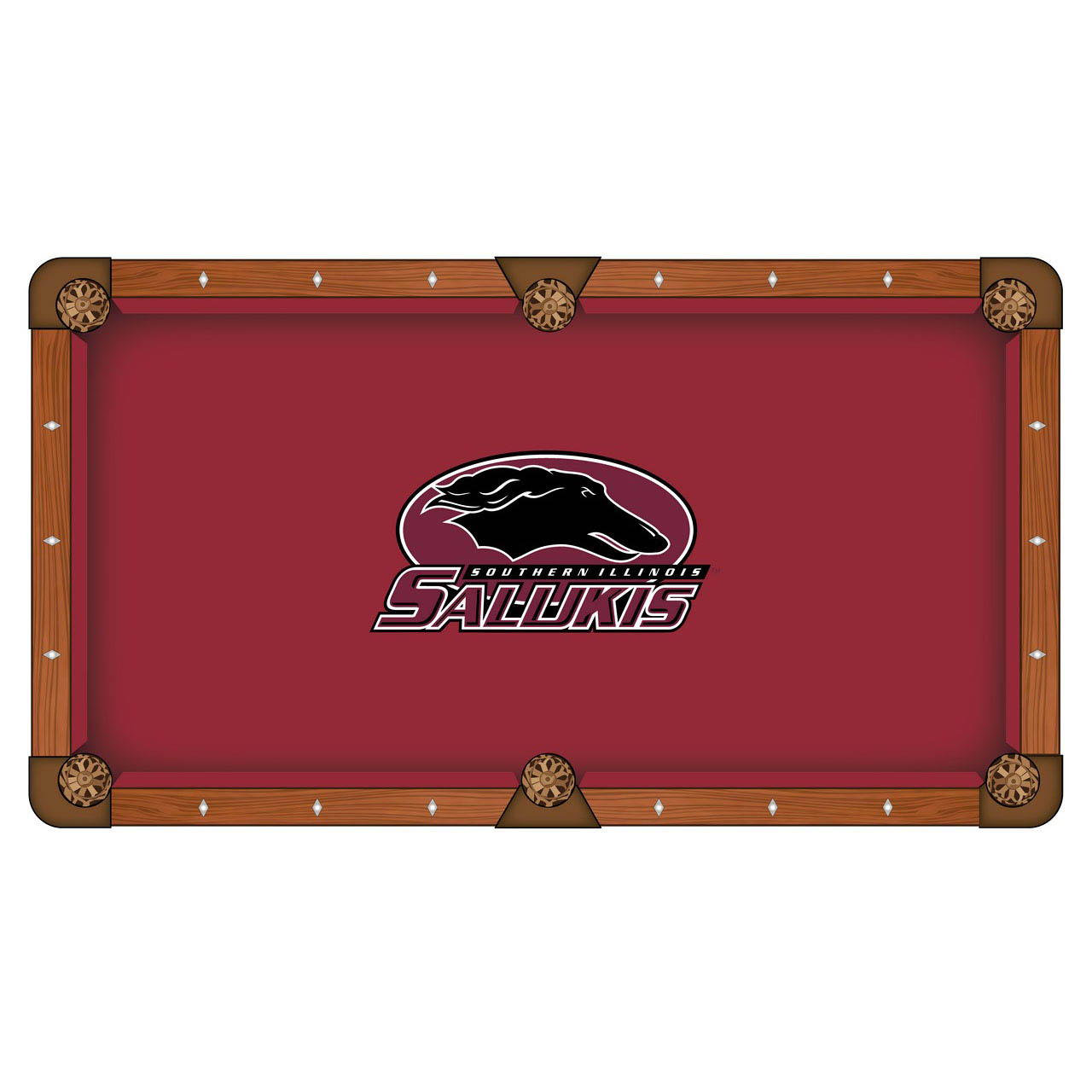 Popular Southern Illinois University Pool Table Cloth Product Photo