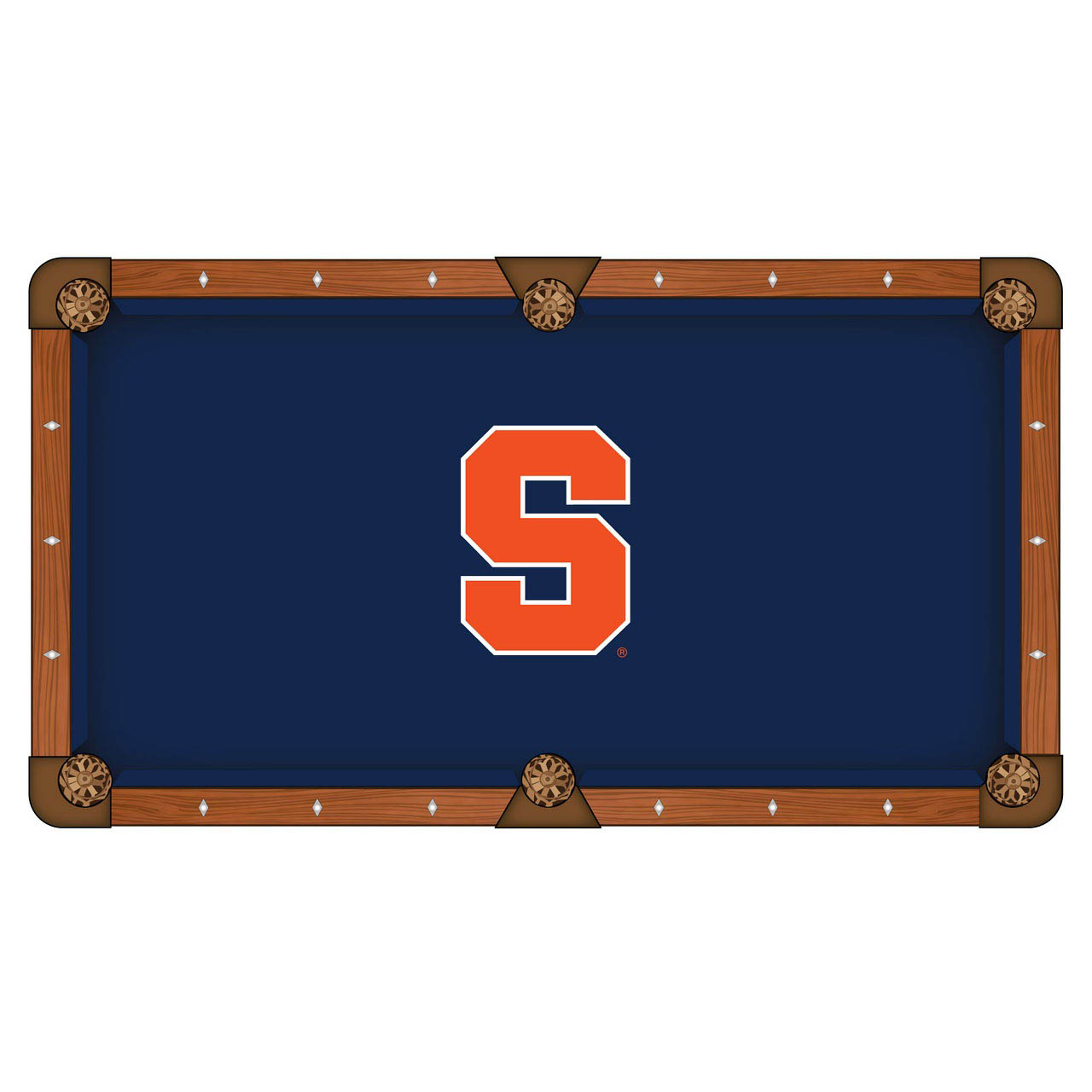 High-class Syracuse University Pool Table Cloth Product Photo