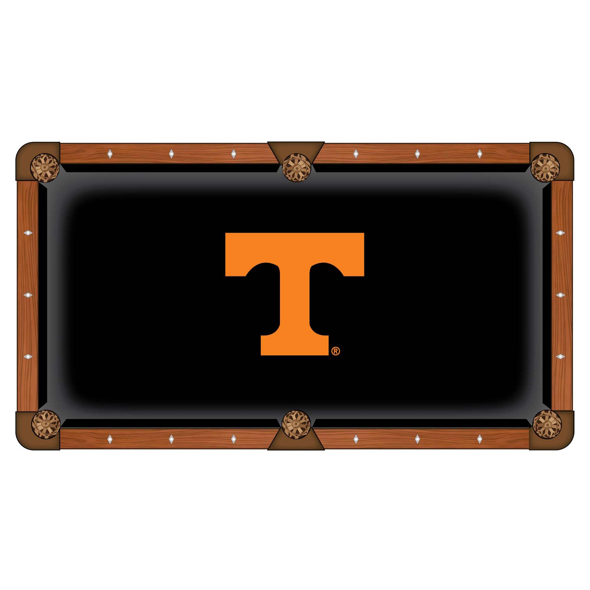 Excellent University Tennessee Pool Table Cloth Product Photo