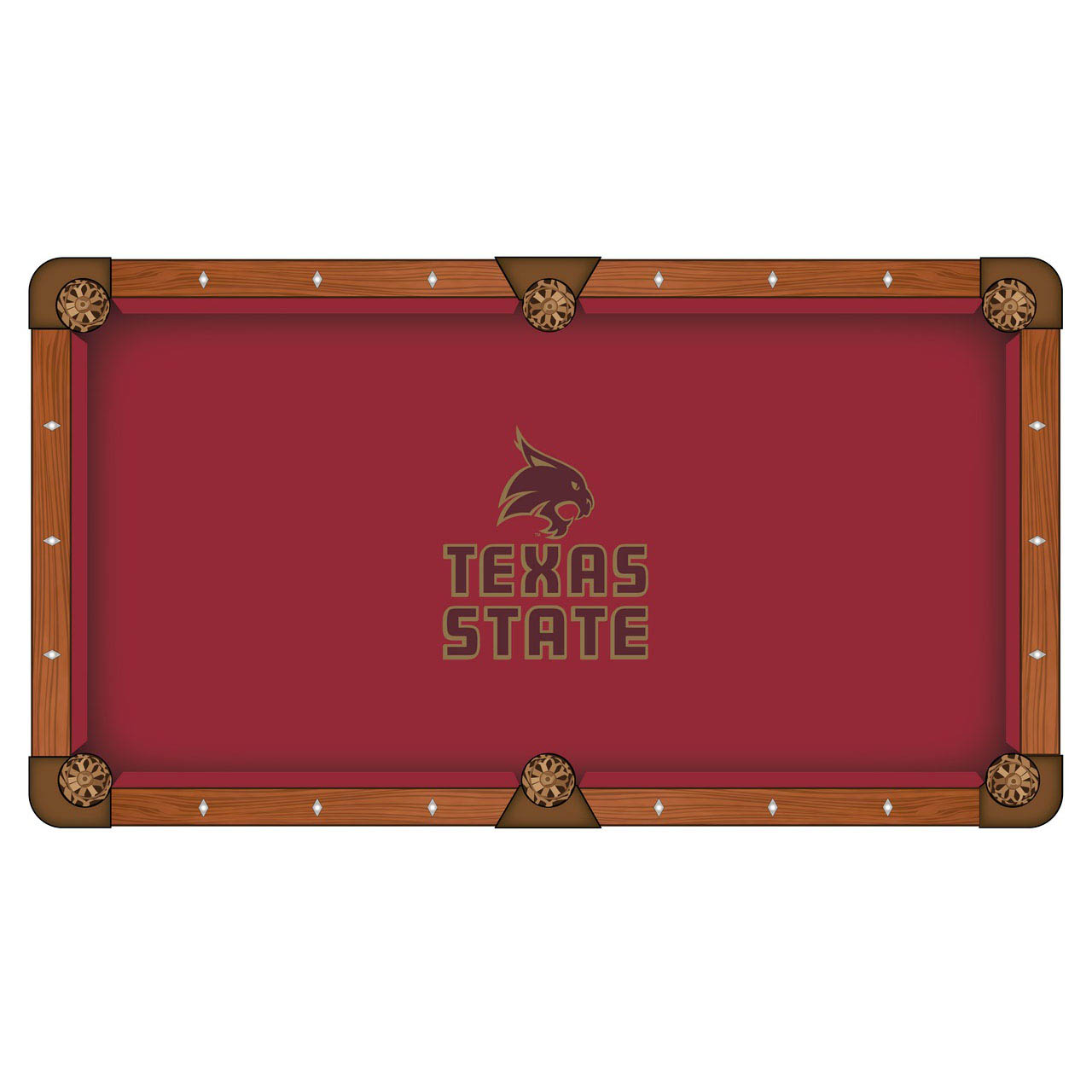 Buy Texas State University Pool Table Cloth Product Photo