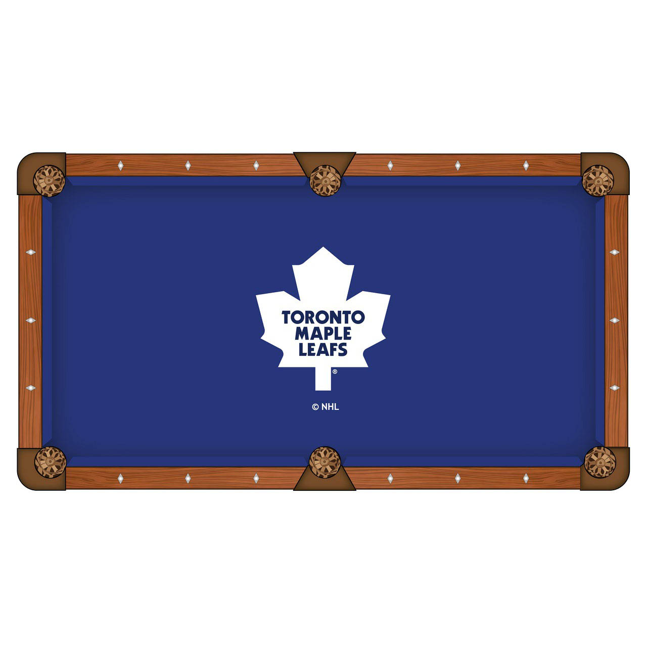 Stunning Toronto-Leafs-Pool-Table-Cloth Product Picture 578