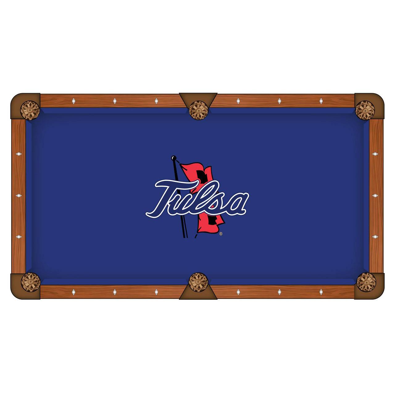 Precious University Tulsa Pool Table Cloth Product Photo