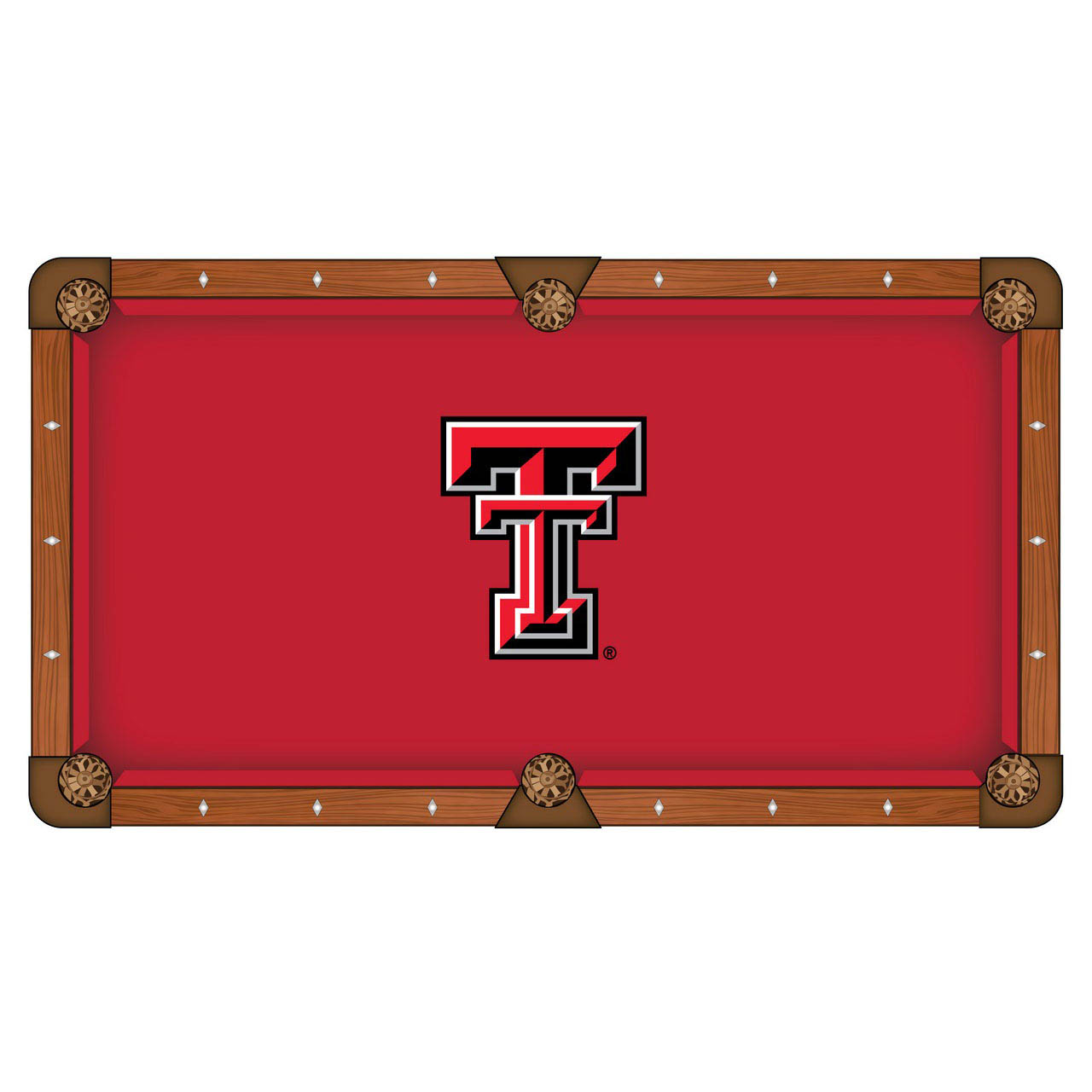 Stunning Texas-Tech-University-Pool-Table-Cloth Product Picture 578