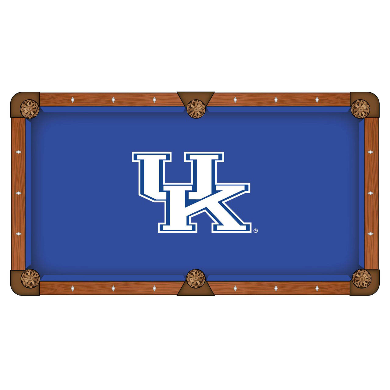 Design University Kentucky Logo Pool Table Cloth Product Photo