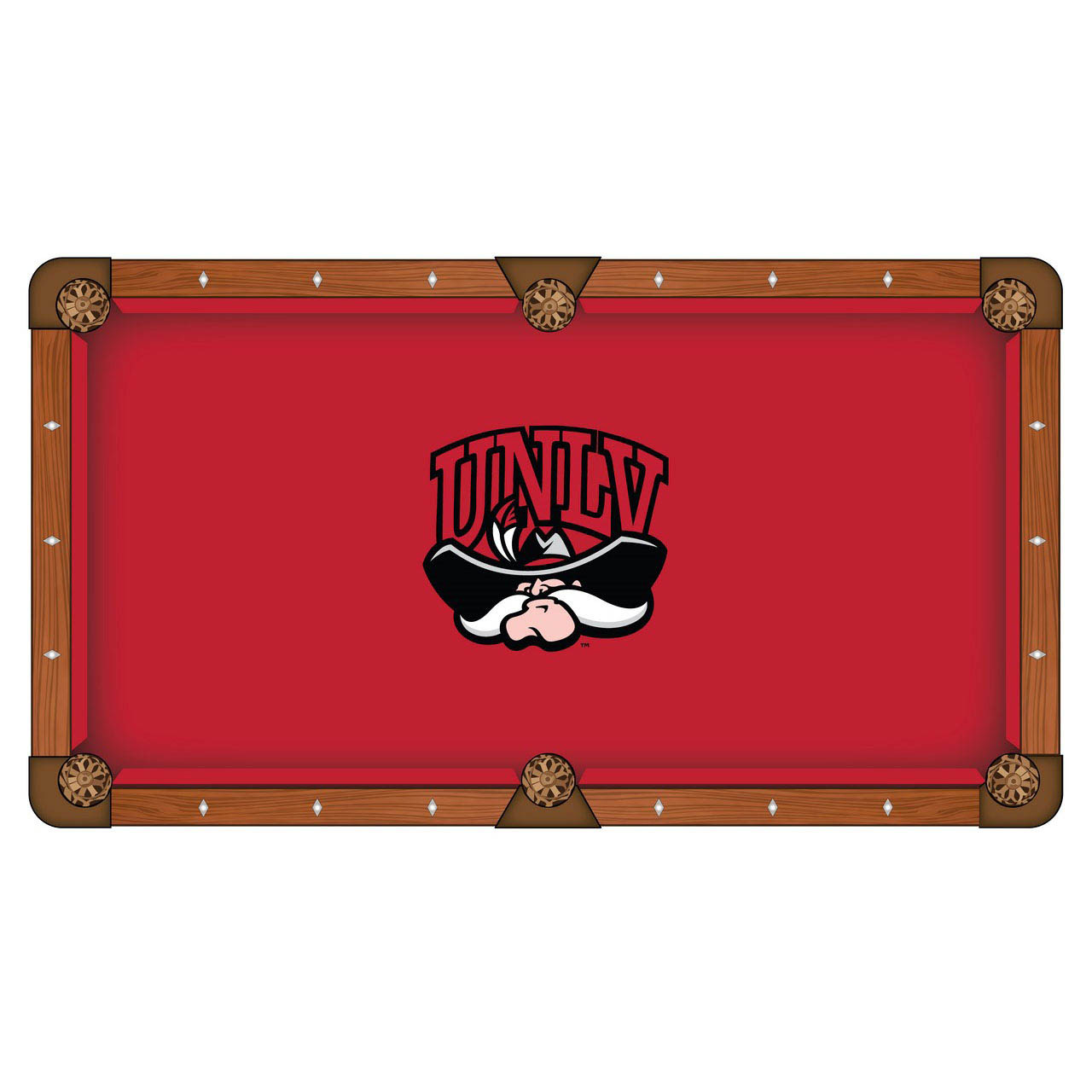 Special University Nevada Las Vegas Pool Table Cloth Product Photo