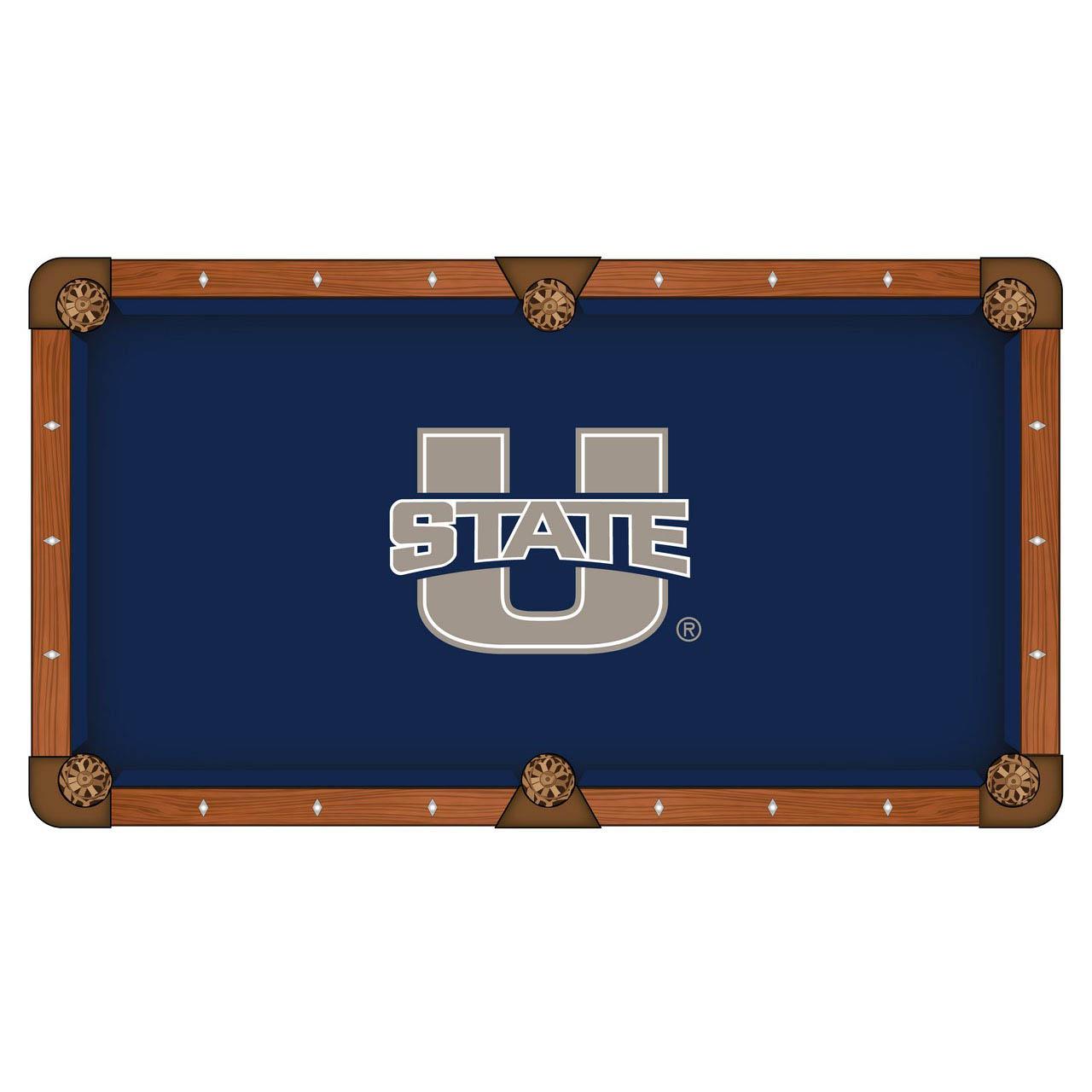 Splendid Utah State University Pool Table Cloth Product Photo