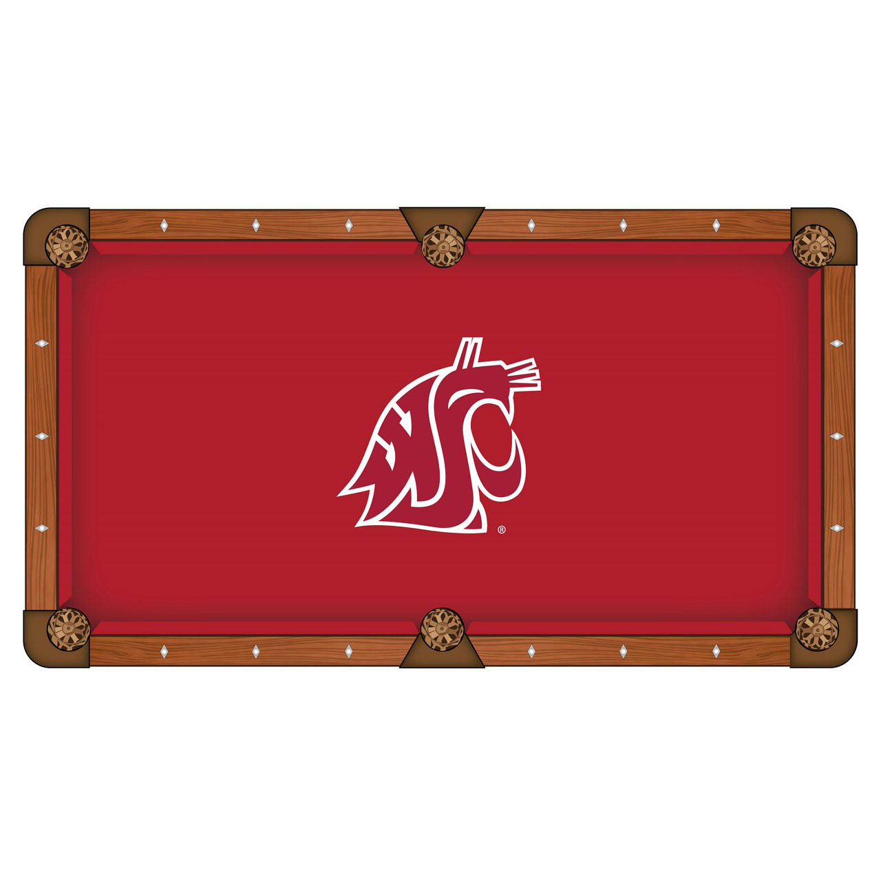 Select Washington-State-University-Pool-Table-Cloth Product Picture 1047