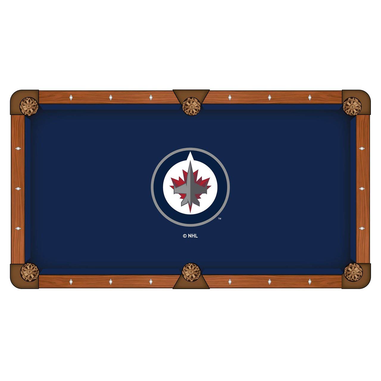 User friendly Winnipeg Jets Pool Table Cloth Product Photo