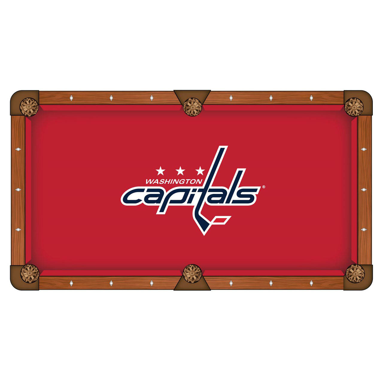 Select Washington Capitals Pool Table Cloth Product Photo