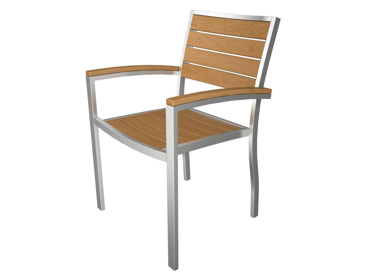 User friendly Euro Dining Arm Chair Product Photo