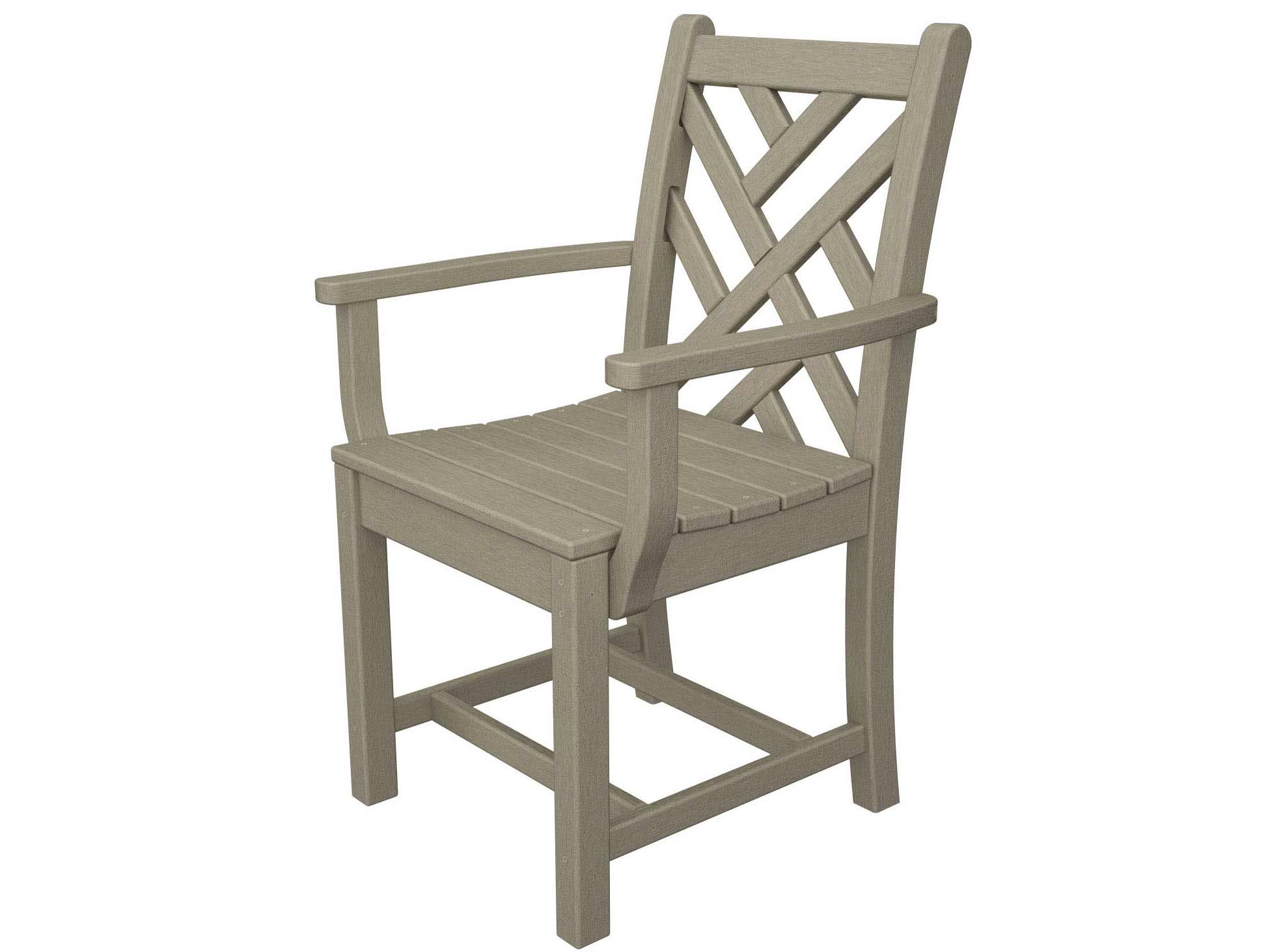 Stylish Chippendale Dining Arm Chair Product Photo