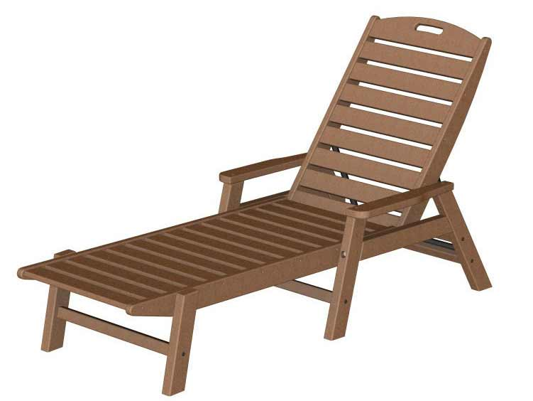Amazing Nautical Stackable Chaise Arms Product Photo