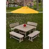 Beautiful PolyWood Patio Dining Tables
