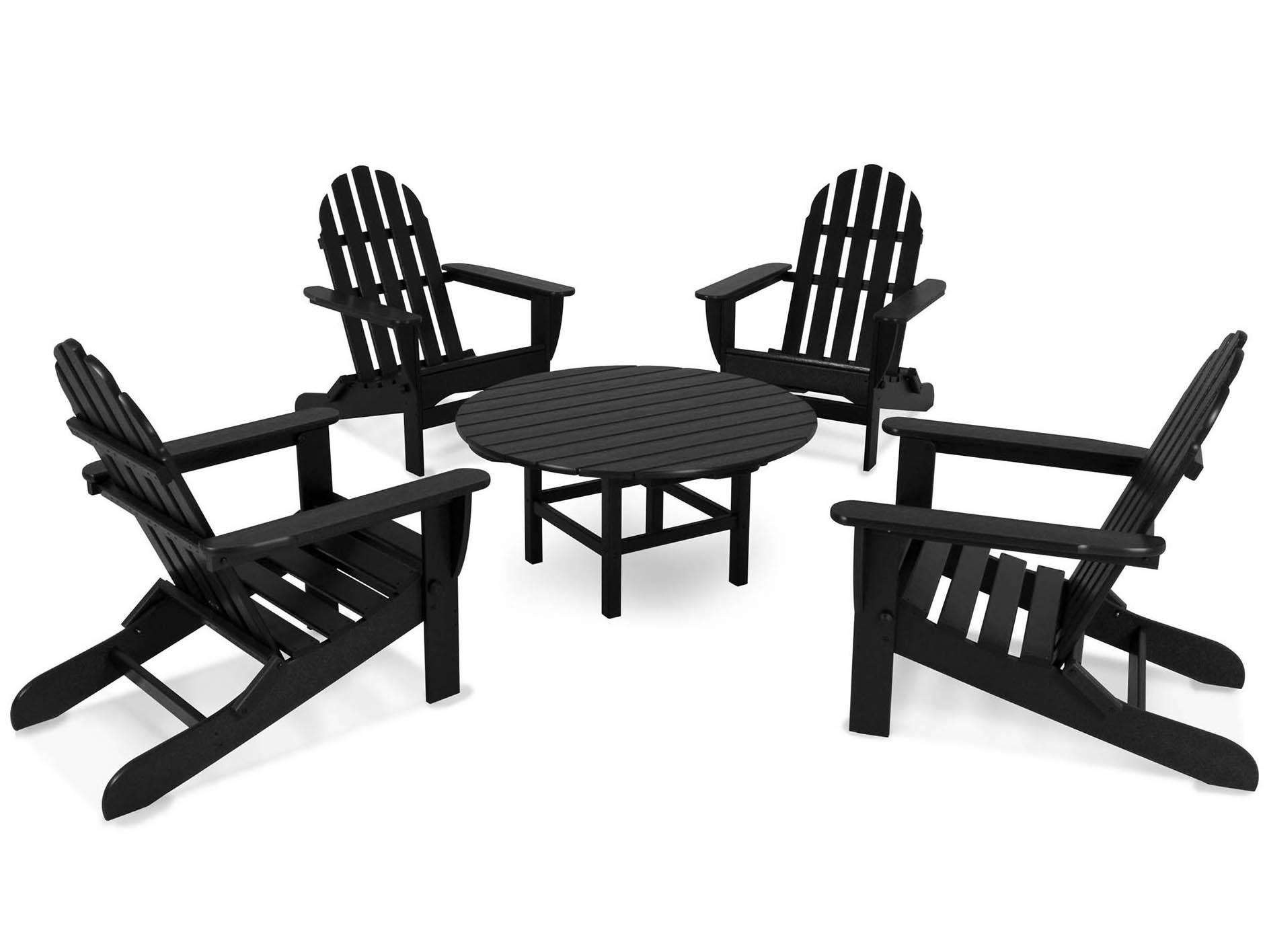 Lovable Classic Folding Adirondack Conversation Set Product Photo