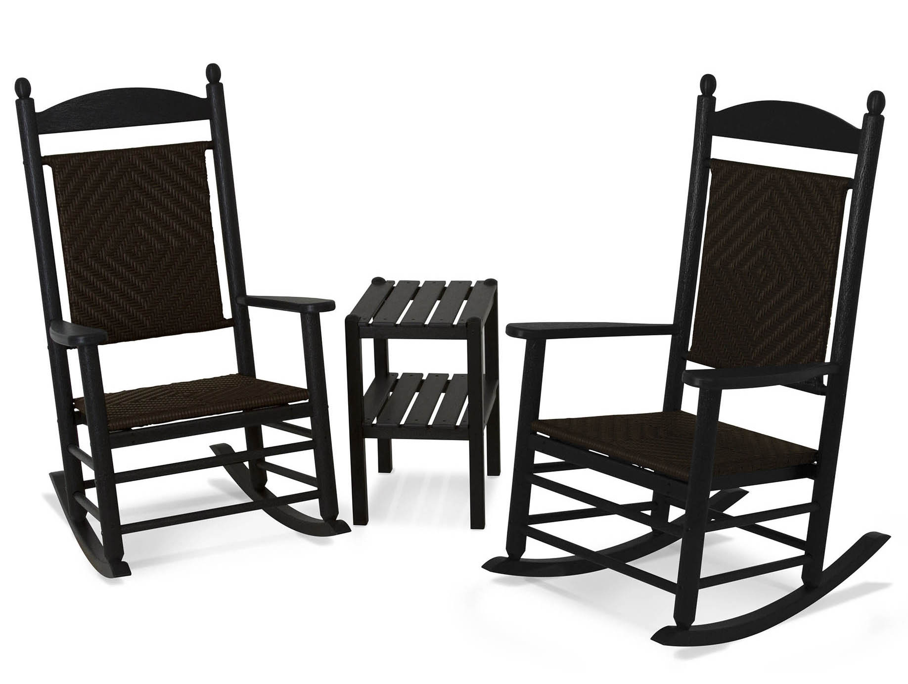 Outstanding Jefferson Woven Rocker Set 16 2331