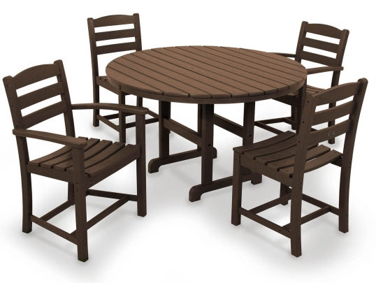 Slim Logo; La Casa Cafe 5 Piece Dining Set