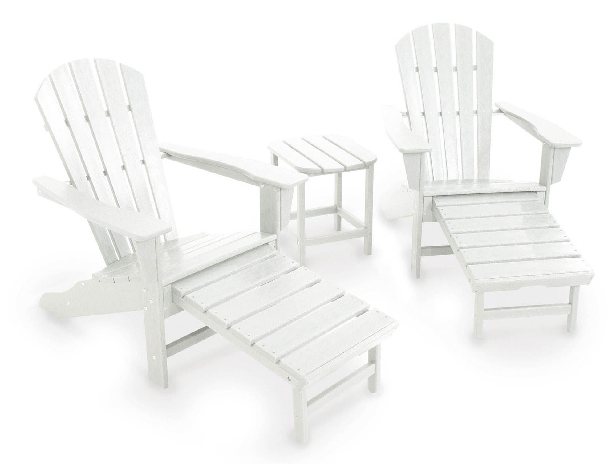 Learn more about South Beach Ultimate Adirondack Set Product Photo