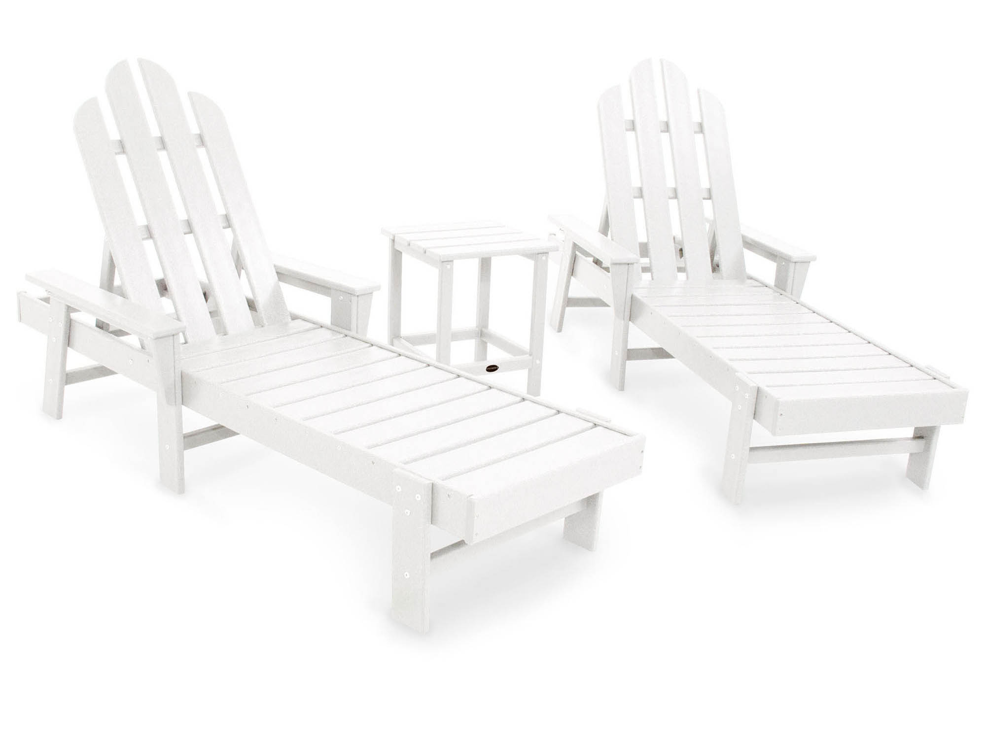 Choose White Long Island Chaise Set 14 1743