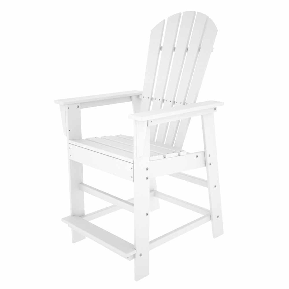 New White South Beach Counter Chair Product Photo