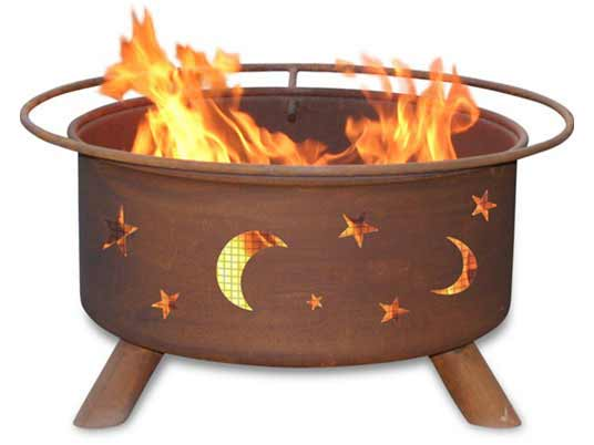 Learn more about Steel Evening Sky Fire Pit Product Photo