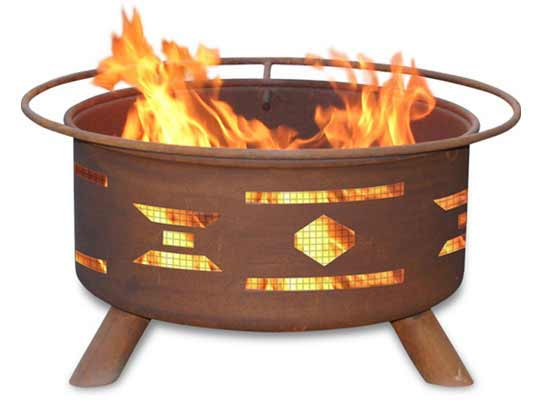 Choose Steel Mosaic Santa Fe Fire Pit Product Photo