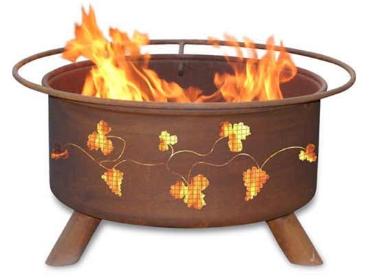 Superb-quality Steel Grapevines Fire Pit Product Photo