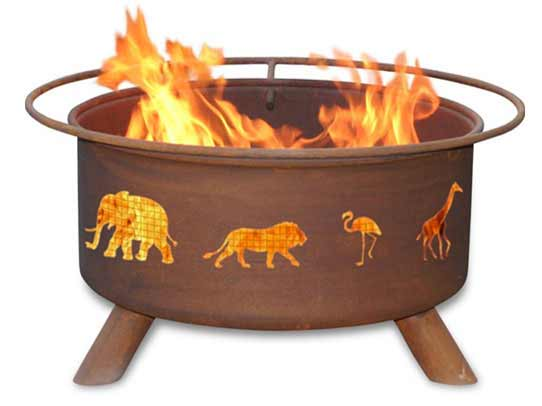 Information about Steel Safari Fire Pit Product Photo