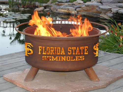 Learn more about Steel Florida State Fire Pit Product Photo