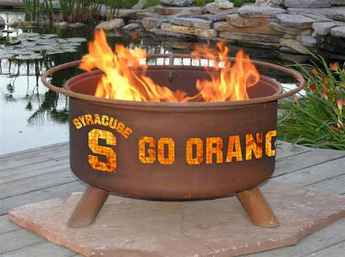 Unique Steel Syracuse Fire Pit Product Photo